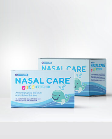 Nasal Care</br> Sterilized product 0,9% Saline Solution