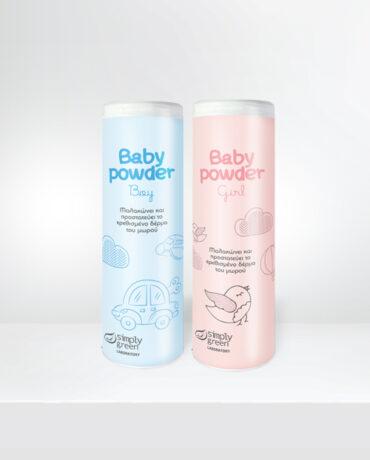 Simply Green</br> Baby Powder